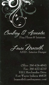 Cambray and Associates in Fort Wayne Indiana - Flooring and design specialists